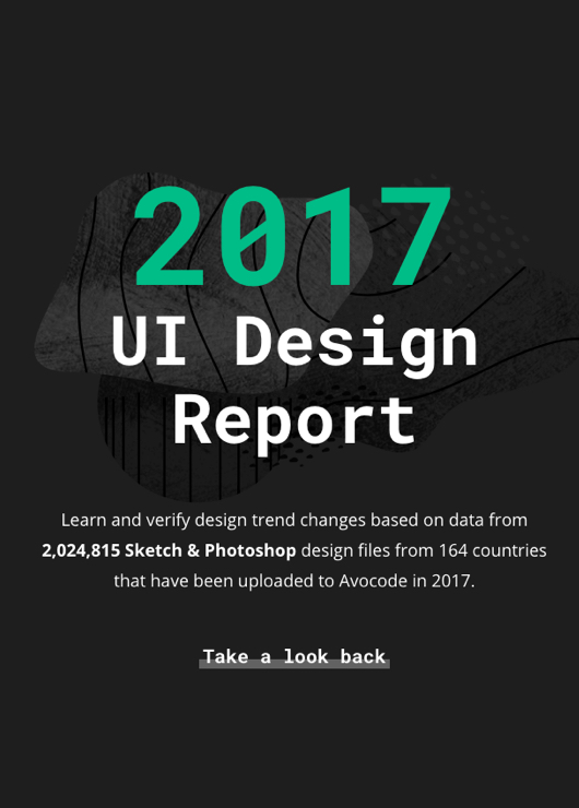 Download free ebook Avocode 2017 UI Design Report - Lapabooks.com