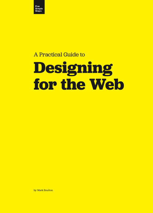 Download Free Book: Designing for the Web