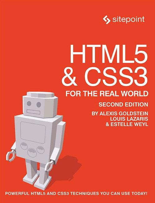 Download Free Book: HTML5 & CSS3 for the Real World: 2nd Edition