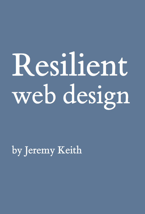 Download Free Book: Resilient Web Design
