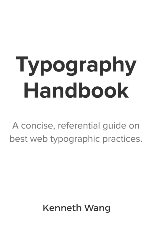 Download Free Book: Typography Handbook