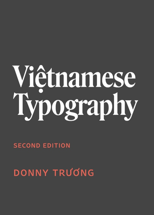 Download free ebook Việtnamese Typography - Lapabooks.com